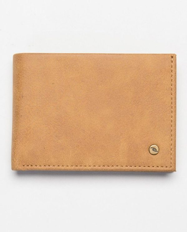 BWUOH1_Roundhouse Rfid Pu Slim_BROWN_FRONT