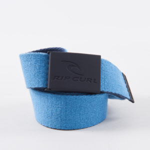 CBECL1_ Snap Webbed Belt_BLACK BLUE