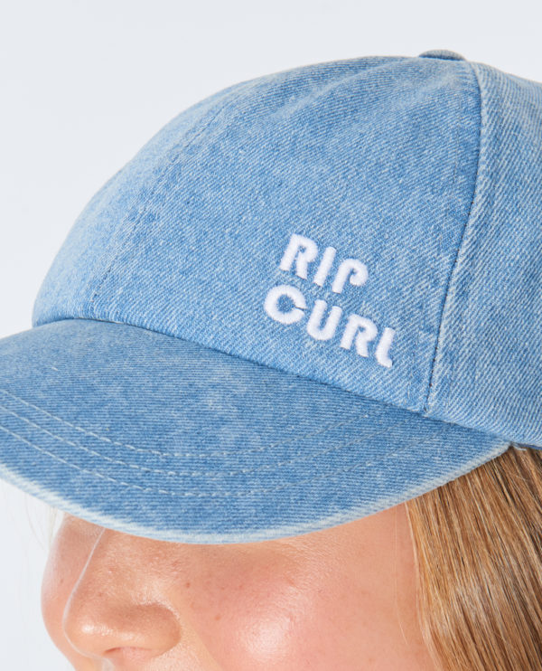 GCAIQ1_Revival Denim Cap_BLUE_DETAIL
