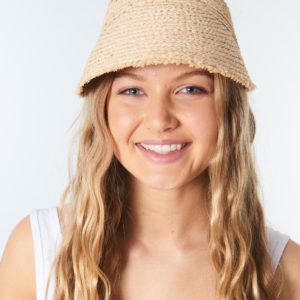 GVIBC1_Surf Shack Straw Visor_NATURAL_FRONT
