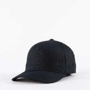RIPCURL_SA_MENS_CAPS_CCACD9_Wettie Deboss Flexfit_BLACK_SIDE