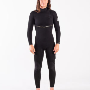 RIP_CURL_SA_LADIES_E7_WETSUITS_WSMYUG_E7 Limited Edition E-Bomb 4:3mm Zip Free Wetsuit Steamer_LADIES_BLACK_FRONT