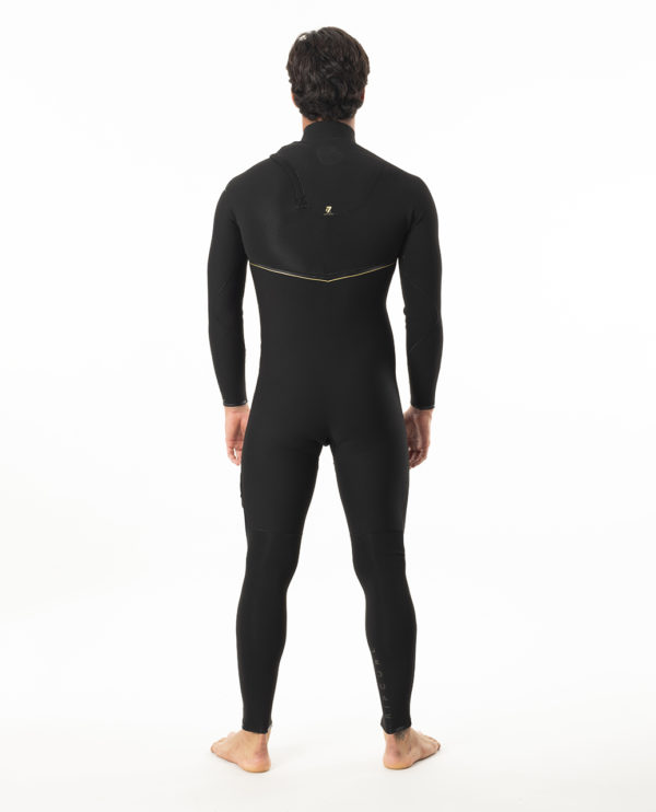RIP_CURL_SA_MENS_E7_WETSUITS_WSMYBE_E7 Limited Edition E-Bomb 4:3mm Zip Free Wetsuit Steamer_BLACK_BACK