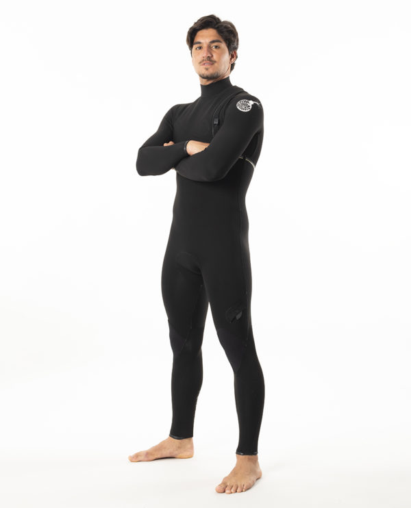 RIP_CURL_SA_MENS_E7_WETSUITS_WSMYBE_E7 Limited Edition E-Bomb 4:3mm Zip Free Wetsuit Steamer_BLACK_SIDE FOLD
