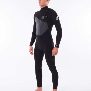 WSTYMF_Dawn Patrol 3.2mm Chest Zip Wetsuit_BLACK_SIDE