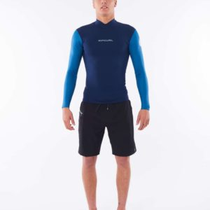WVE9CM_Dawn Patrol 3.2mm Chest Zip Wetsuit_BLUE_FRONT