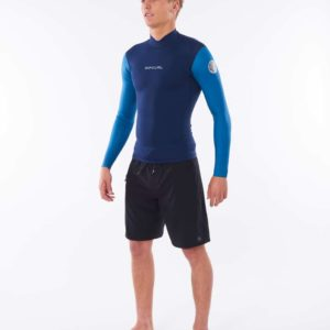 WVE9CM_Dawn Patrol 3.2mm Chest Zip Wetsuit_BLUE_SIDE