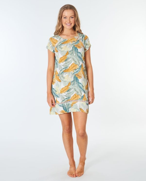 GDRCZ9_Tropic Sol Tee Dress_VANILLA_FRONT FULL