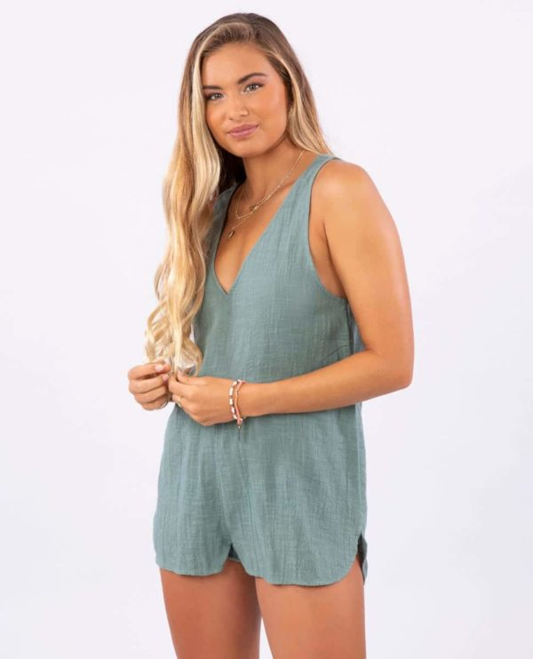 GOVCA1_Holly Romper_ARMY_FRONT