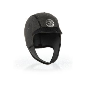 WHOLAM_Dawn Patrol 2mm Surf Cap_BLACK