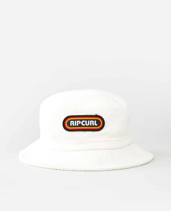 CHABA9_SURF REVIVAL BUCKET HAT_WHITE_FRONT