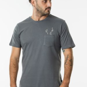 CTEHST_HIGH STEAKS TEE_CHARCOAL_FRONT