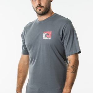 CTERT9_ICON WORD TEE_DARK CHARCOAL_FRONT SIDE