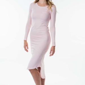 LDRFT7_STAY CHILLED SUMMER DRESS_PINK_FRONT SIDE