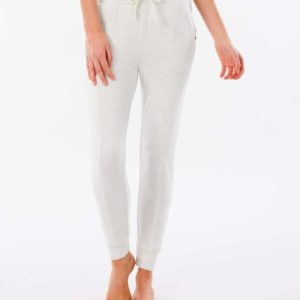 RIP_CURL_SA_LADIES_BOTTOMS_GPABK9_Cosy II Trackpant_WHITE_FRONT