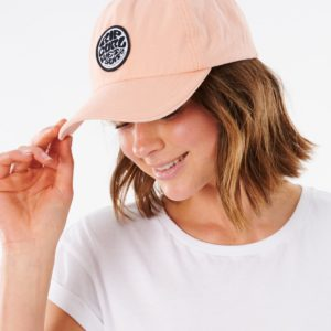 RIP_CURL_SA_LADIES_HEADWEAR_CAPS_GCAJP1_SURFERS ORIGINAL CAP_PEACH_SIDE